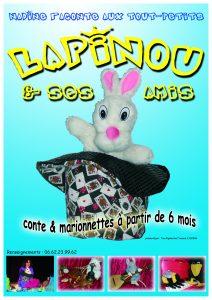 Affiche Lapinou A6
