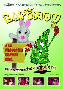 Affiche Lapinou Noel A6