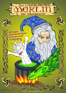 Affiche Merlin A6 OK