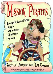 Affiche Pirate A6