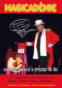 affiche magicademie A6